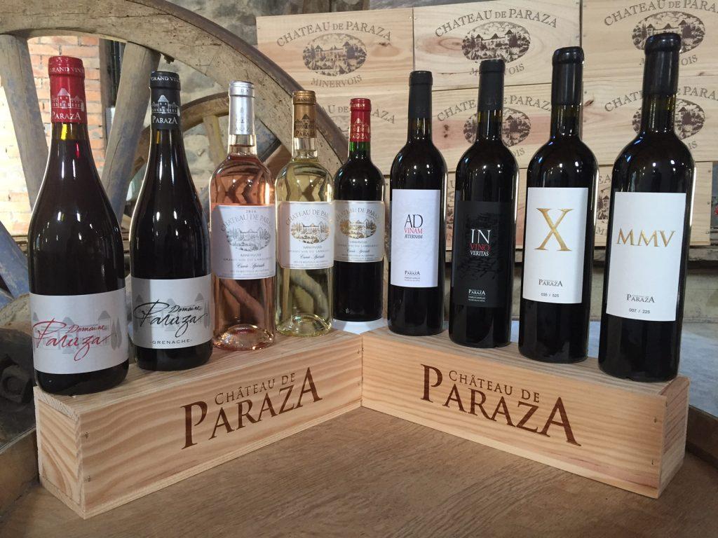 wines chateau de paraza