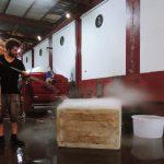 Nettoyage a l'eau