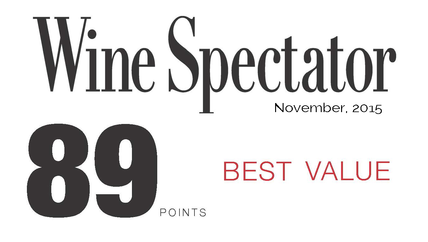 Rated 89 By Wine Spectator