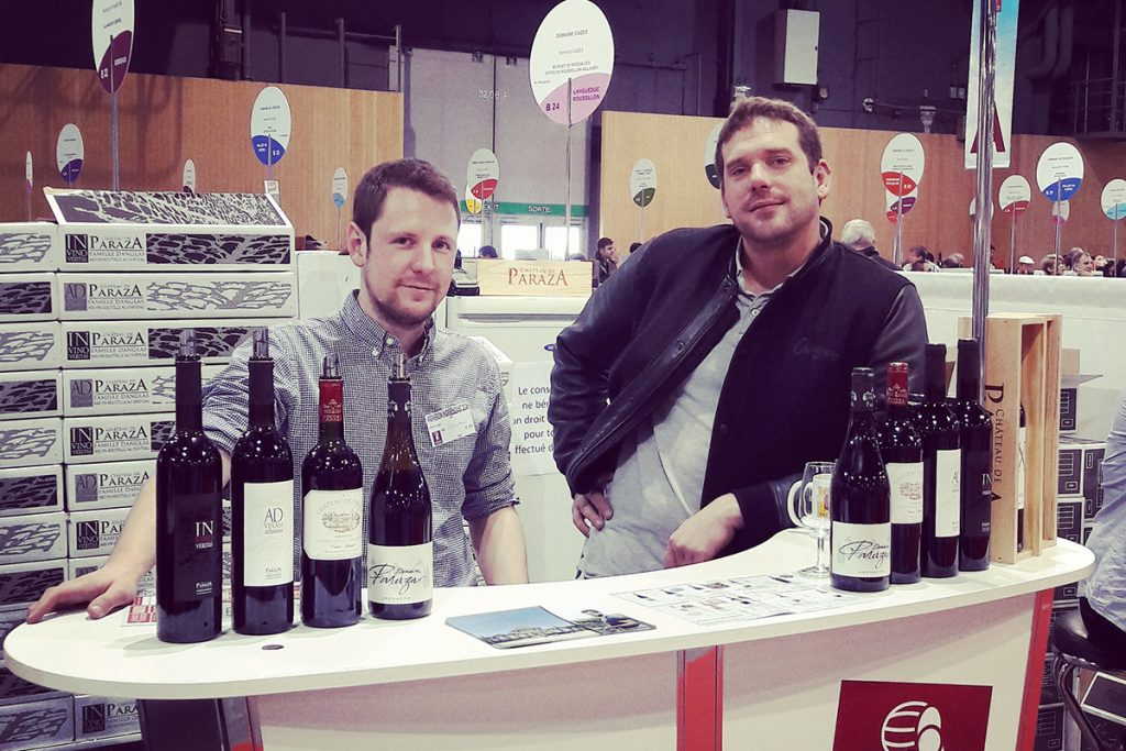 Salon des vignerons independants 2016