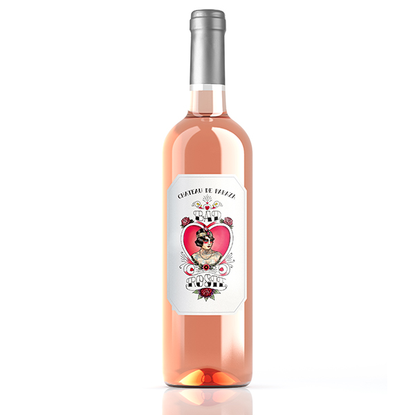 Bad Rosie rosé Vin du Chateau de Paraza great wines from Minervois Languedoc
