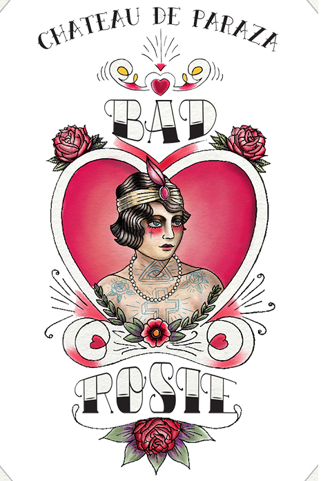 Bad Rosie Label