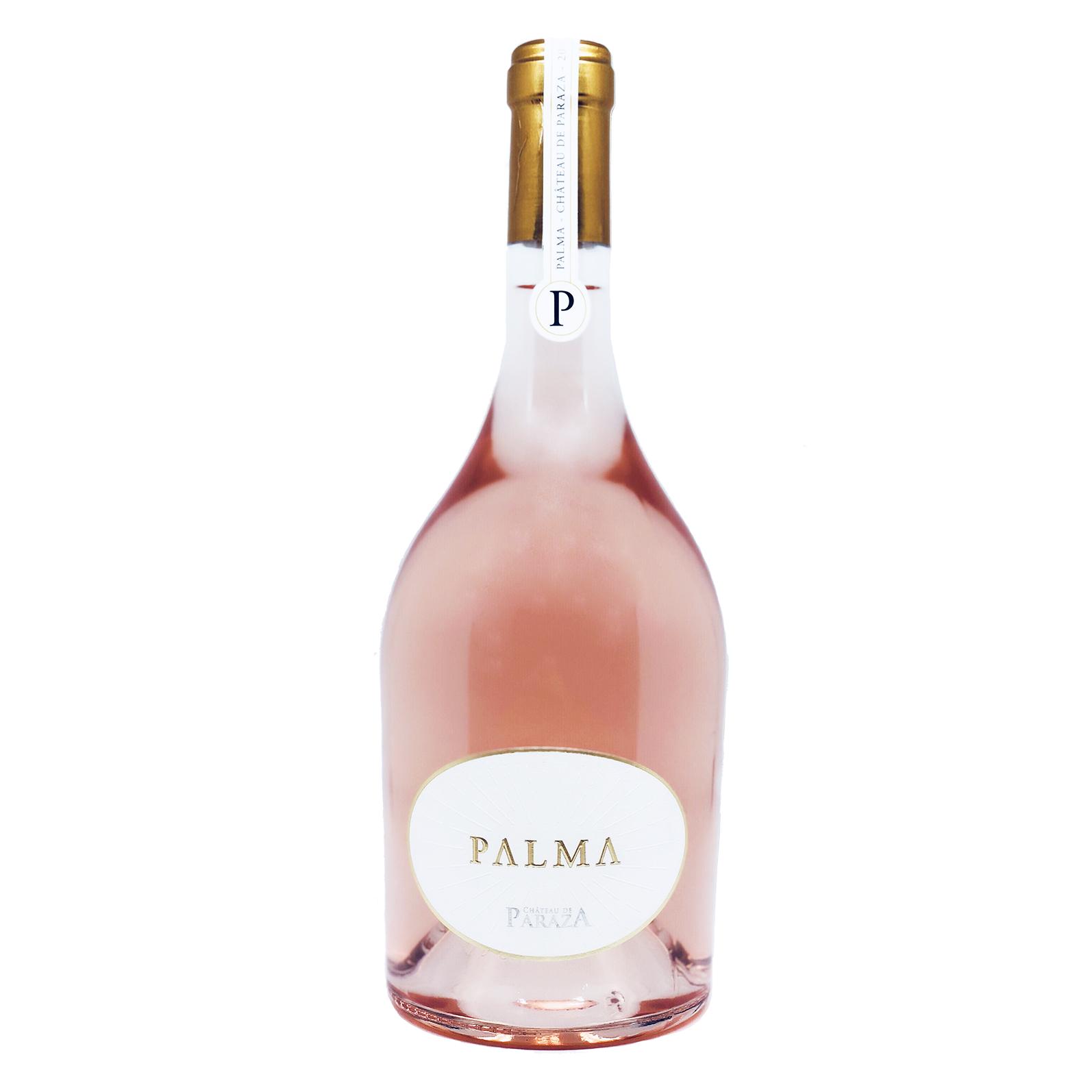 Bouteille de Palma Rosé vins du Minervois