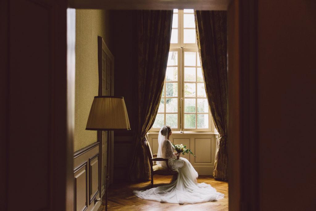 wedding in a chateau