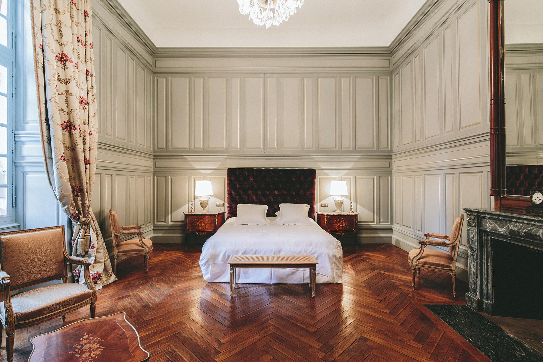 Suite de Paul Riquet / chambre d'hôte du château de Paraza
