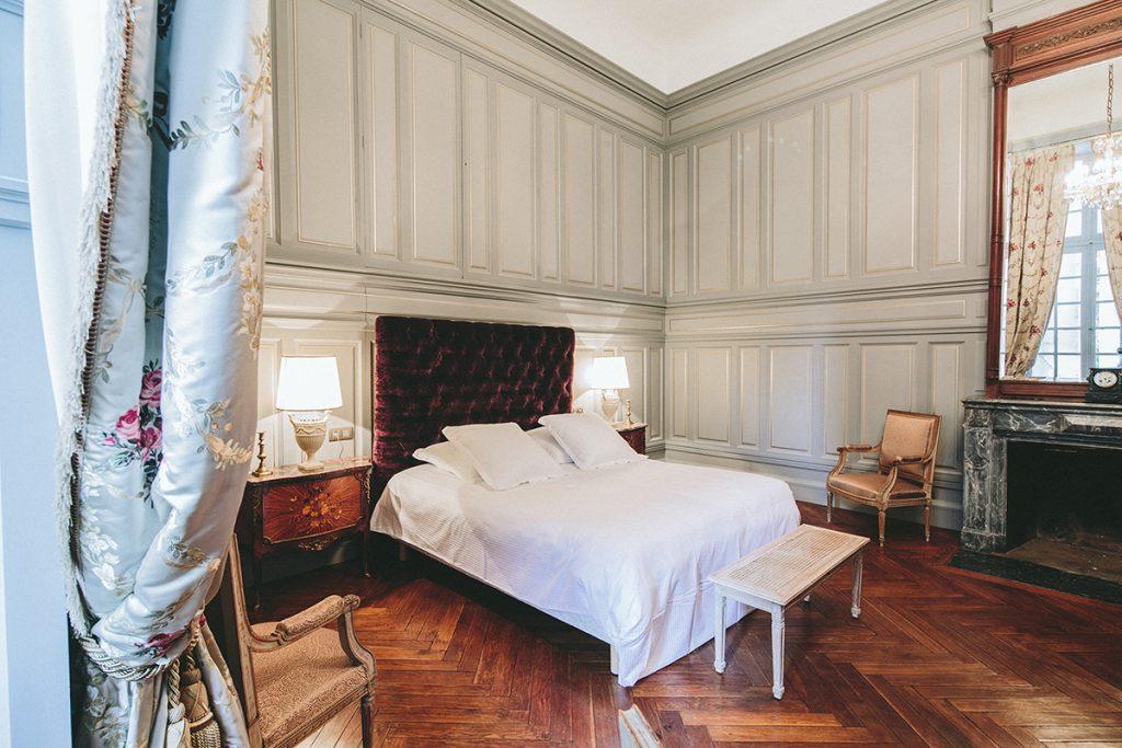 La Suite de Riquet au Chateau de Paraza, ambiance romantique
