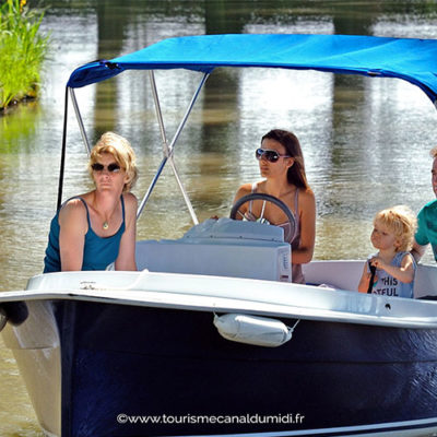tourisme sur le canal du midi
